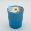 Krystalová svíčka s chalcedonem- Svíčky Dória