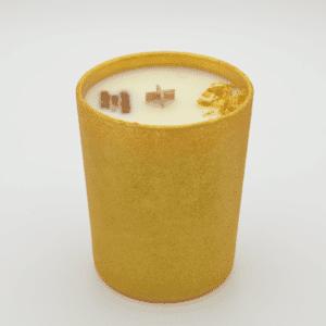 Krystalová svíčka s kyanitem - Svíčky Dória