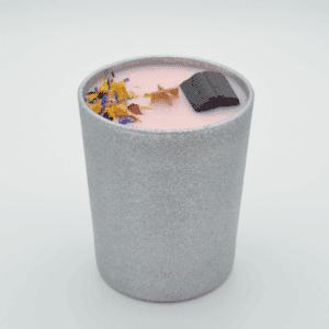 Krystalová svíčka se skorylem - Svíčky Dória