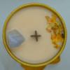 Skořicovo pomerančová svíčka s chalcedonem 2
