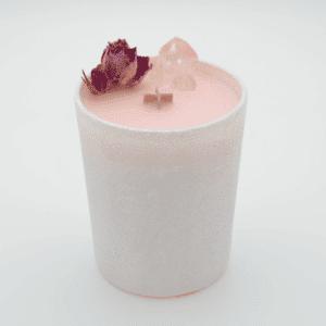 Krystalová svíčka s kříšťálem - Svíčky Dória