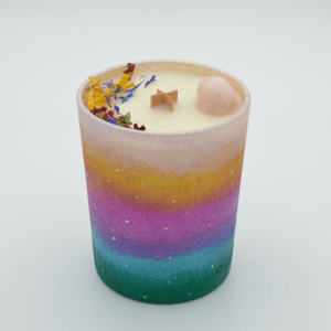 Krystalová svíčka s opálem - Svíčky Dória