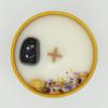 Krystalová svíčka s onyxem 2 - Svíčky Dória