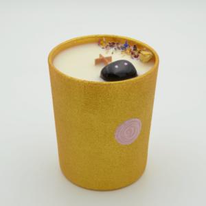 Krystalová svíčka s onyxem - Svíčky Dória