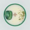 Krystalová svíčka s azuromalachitem 2 - Svíčky Dória