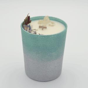 Odpuštění - Krystalová svíčka s kříšťálem - Svíčky Dória
